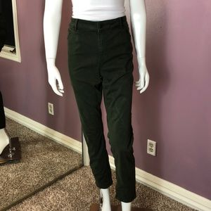 Ann Taylor The Skinny Curvy Fit, Crop Jeans